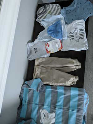 Baby boy clothes and monitor for Sale in Pasco, WA