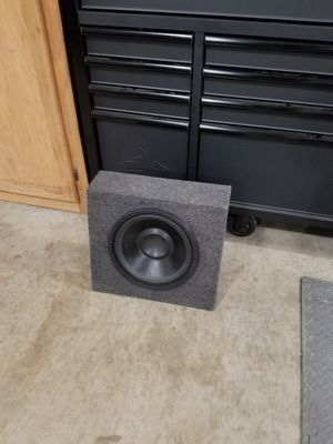 12 In. Sub Ported Box for Sale in Modesto, CA
