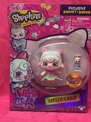 Shopkins Wild Style Mello Lamb for Sale in Standish, ME