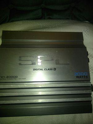 SPL 2000 watt one channel for Sale in Oakland, CA