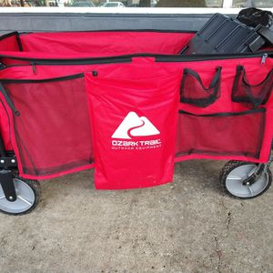 Ozark Trail Outdoor Wagon With Tailgate for Sale in Portland, OR