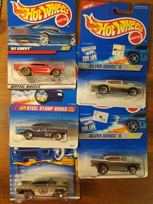 Hot Wheels '57 Chevy lot of 5 for Sale in Newburgh, IN
