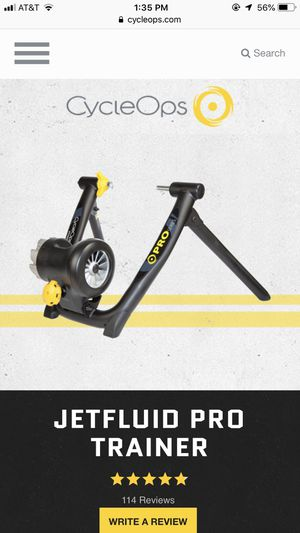 Bike trainer/ Cycleops for Sale in Leavenworth, WA