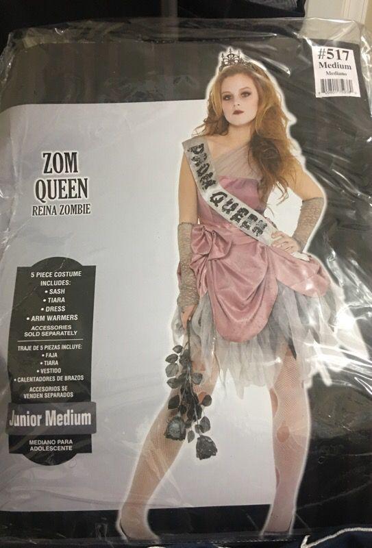Halloween zombie prom queen costume for Sale