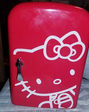 Hello kitty mini fridge & warmer for Sale in Sandy, UT