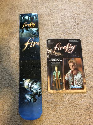 Firefly TV Show Figurine and Socks Set for Sale in Stow, OH