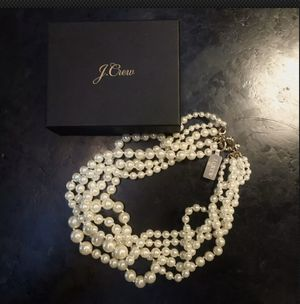 New J.Crew Multistrand Twisted Pearls for Sale in Princeton, NJ