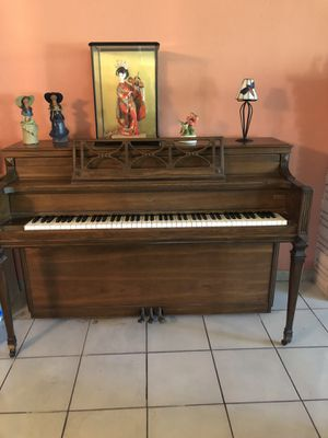 Upscale Wood Piano. Great gift! STOORY & CLARK for Sale in North Miami Beach, FL