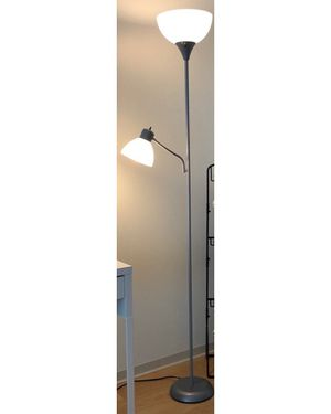 Silver floor lamp for Sale in Chicago, IL