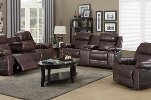 Brand New Brown 3pc. Recliner Set for Sale in Austin, TX