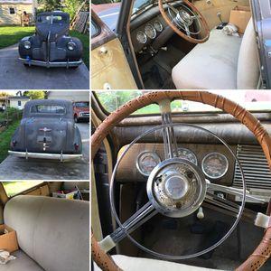 Grey 1940 Buick special with suicide rear doors for Sale in Manassas, VA