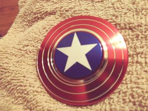 Captain america spinners adults only kids must have adult cont.me for Sale in Richmond, VA
