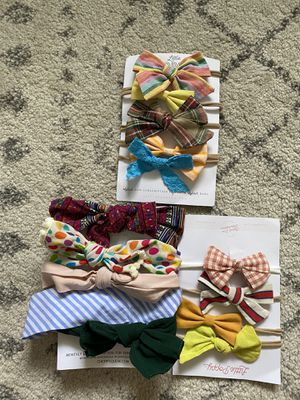 Baby girl hair bows for Sale in Everett, WA