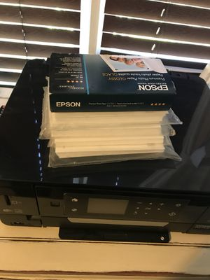 Epson printer & canon digital camera- new for Sale in Port St. Lucie, FL