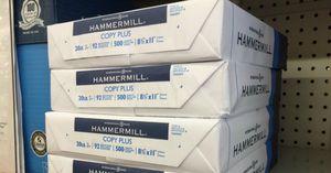 Hammermill copy paper printer paper 10 ream 5000 sheets for Sale in Walnut, CA