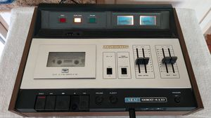 Vintage AKAI Cassette Tape Deck Player Recorder for Sale in Weirton, WV