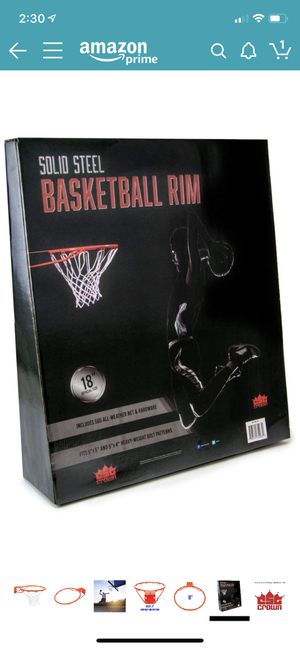 Replacement basketball hoop for Sale in Chandler, AZ