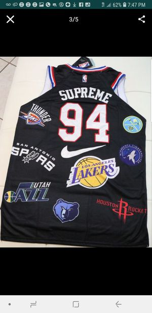 Brand new Supreme Jerseys large size black. for Sale in Deltona, FL
