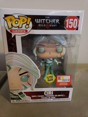 Funko Pop Witcher Ciri #150 E3 Exclusive for Sale in Woodbridge, VA