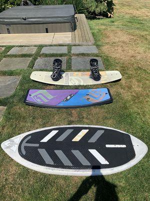 Wake surfboard, wake skate and wakeboard for Sale in Issaquah, WA
