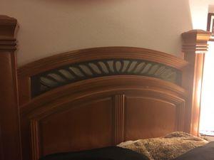 Bed frame, dresser, 2 end tables for Sale in Belleair, FL