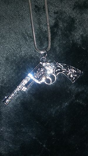 Gun charm & chain for Sale in Brentwood, CA