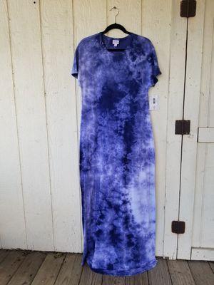 LuLaRoe long tye-dye Maria dress for Sale in Katy, TX