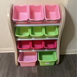 Step 2 Organizer and toy storage pink for Sale in Pico Rivera,  CA