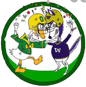 Washington Huskies vs Oregon Ducks Football Tickets for Sale in Maple Valley, WA