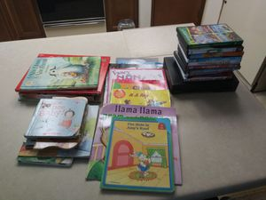 Children's Books DVDs and DVD player lot for Sale in Federal Way, WA