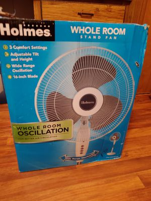 Whole room oscillating fan 16 in for Sale in Clinton Township, MI