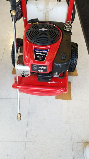 Troy-Bilt 3000 Max PSI Pressure Washer (774913-1) for Sale in Tacoma, WA