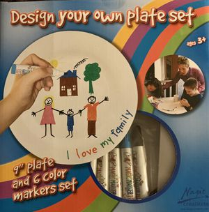 Design your own plate. for Sale in Pasadena, MD