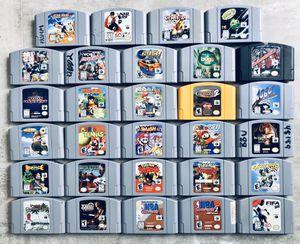 Nintendo 64 (n64) Games for Sale in Newport Beach, CA