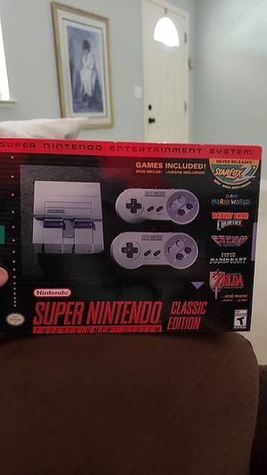 Super nintendo classic edition for Sale in Sacramento, CA