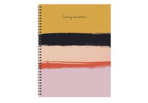 """2019 Abstract Painted Stripes 9"""" x 11"""" January 2019-December 2019 Large Weekly Monthly Planner A0-0017 for Sale in St. Louis, MO"""