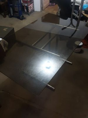 Nice glass table for Sale in Newark, OH