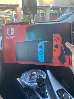 Brand New Nintendo Switch 32 GB Neon Red and Blue for Sale in Tempe, AZ
