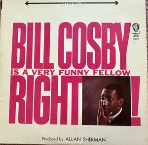 "Bill Cosby ""Bill Cosby Is A Very Funny Fellow Right!"" Vinyl Album $6 for Sale in Ringgold, GA"