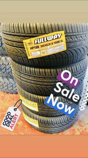 245/45/18 Fullway set on SALE! for Sale in Orlando, FL