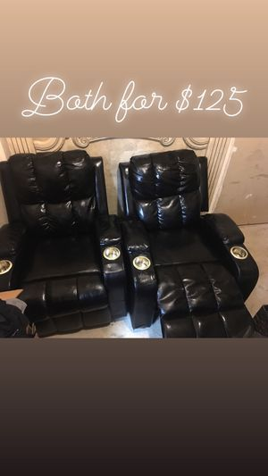 2 Recliners for Sale in Baltimore, MD