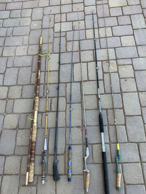 Vintage Fishing Rods for Sale in Queen Creek, AZ