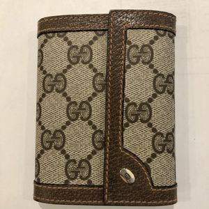 Vintage 1980s Gucci Notepad Cover Wallet for Sale in Brooklyn, NY
