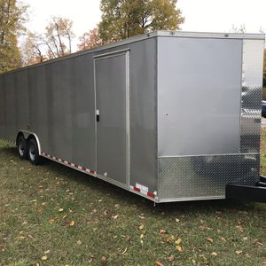 28ft ENCLOSED Car/Cargo Trailer for Sale in Maple City, MI