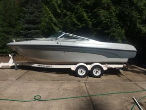 Bluewater 23 foot cuddy-recent restoration in excellent condition-also selling my Dodge 1500 pick up truck for Sale in Portland, OR