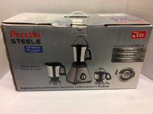 New! Preethi Steele Heavy Duty Mixer Grinder for Sale in Henderson, NV