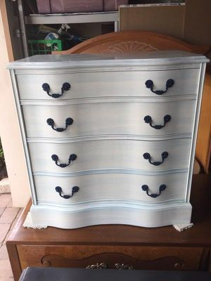$80 firm. White and blue wash dresser for Sale in Lake Worth, FL