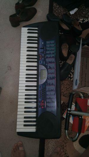 Casio musical keyboard 61 key for Sale in Santa Clara, CA