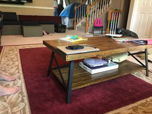 Wood coffee table for Sale in Bristow, VA