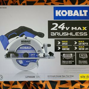 KobaltXTR 24-Volt Max 7-1/4-in Brushless Cordless Circular for Sale in Ardsley, NY